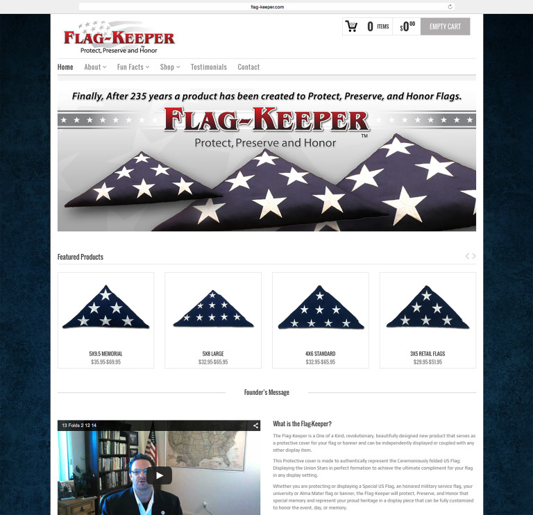 The-Flag-Keeper-Website