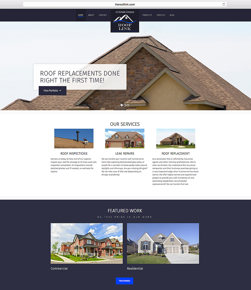 The-Roof-Link-Website